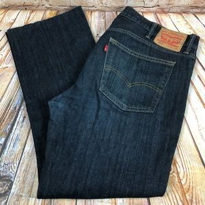 Levis 527 Slim Boot Cut Fit Size 40x31 Denim Jeans